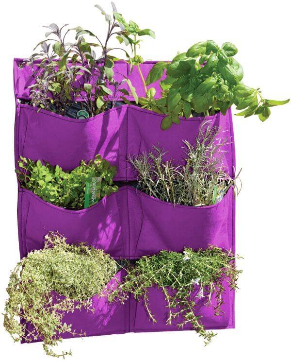 vegtrug living wall pflanztasche bunte farben vertikaler garten balkongarten ebay. Black Bedroom Furniture Sets. Home Design Ideas